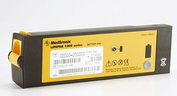 Replacement battery for LifePak 1000 (non-rechargeable)