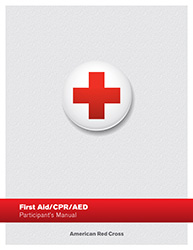 Red Cross First Aid / CPR / AED Participant Manual - Click Image to Close